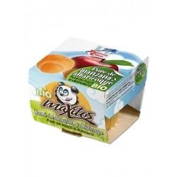 Puré de manzana y albaricoque