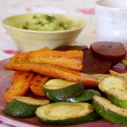 Verduras a la plancha con...