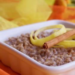 Desayuno de trigo sarraceno