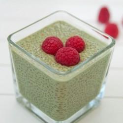 Pudding de chía y té verde