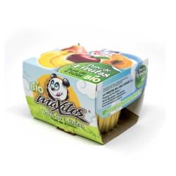 Puré de 4 frutas BIO