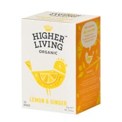 Infusión jengibre y limón...