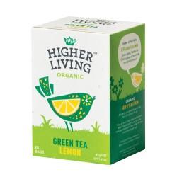 Té verde con limón 20 bolsas