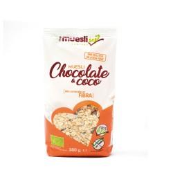 Muesli con chocolate y coco...
