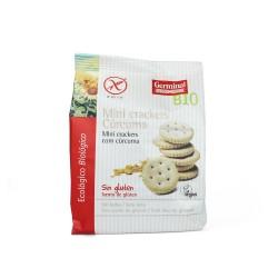 Mini crackers con cúrcuma...