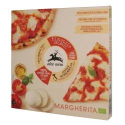 Pizza Margarita bio congelada