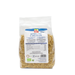 Estrellitas de arroz integral