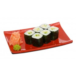 California roll con crema...