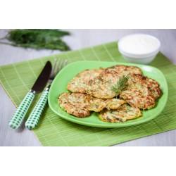 Tortitas proteicas de verduras