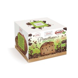 Panettone de café y chocolate