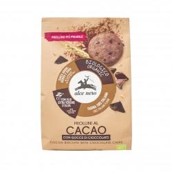 Galletas de cacao con gotas...