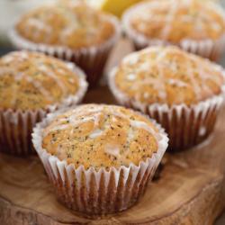 Muffins de limón con...