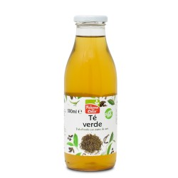 Té verde en botella