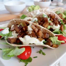 Tacos de tempeh