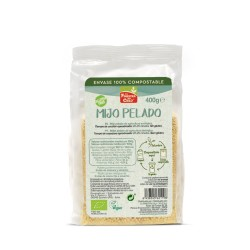 Mijo pelado 100% compostable