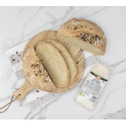 Pan casero con madre masa...