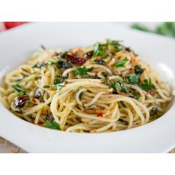 Espaguetis bajos en...