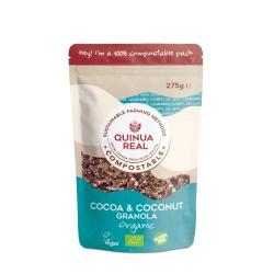 Granola de cacao y coco bio...