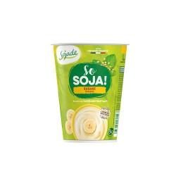 Yogur de soja sabor plátano...