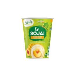 Yogur de soja sabor mango y...