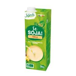 Bebida de soja sabor vainilla