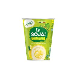 Yogur de soja sabor limón 400g