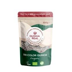 Grano tricolor de quinoa...