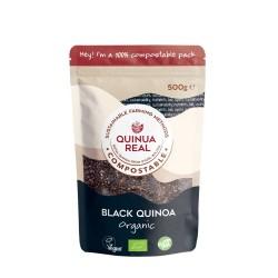 Grano negro de quinoa real...
