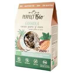 Granola cacao puro y coco BIO