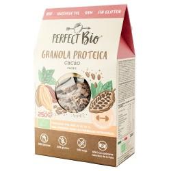 Granola proteica cacao BIO