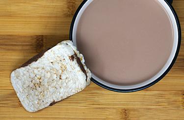 Snacks Dulces: Tortitas de Arroz con Chocolate | La Finestra